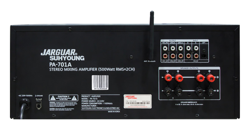 Amply Jarguar Suhyoung PA-701A