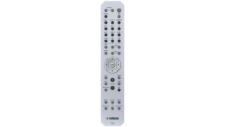 Amply Yamaha R N803 Silver điều khiển