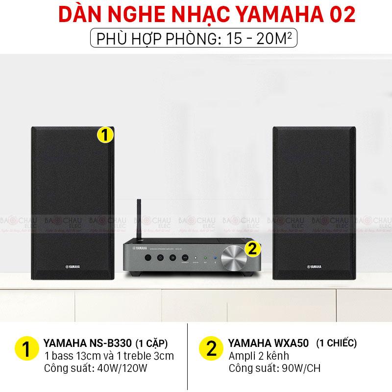 Dàn nghe nhạc Yamaha 02