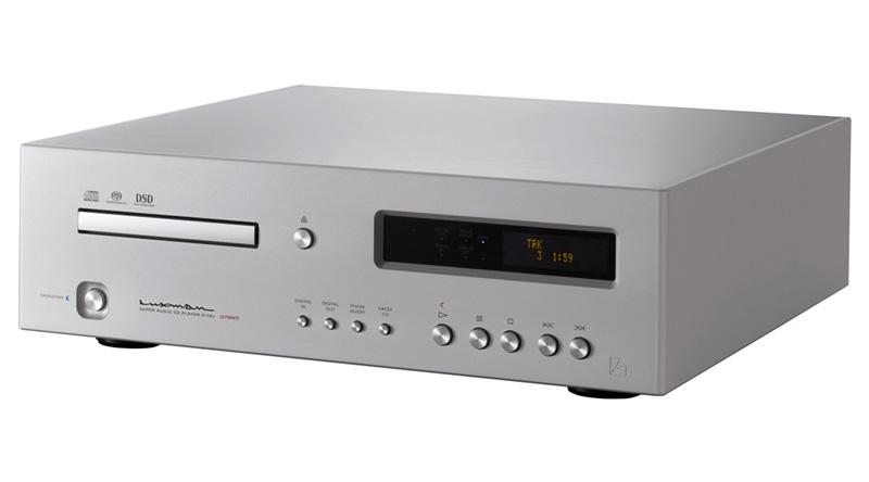 Đầu SACD/CD Luxman D-06U nghiêng