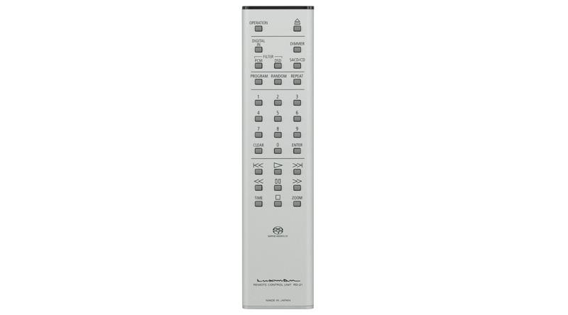 Đầu SACD/CD Luxman D-06U điều khiển