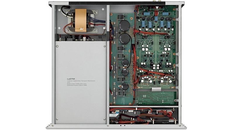 Đầu SACD/CD Luxman D-06U linh kiện