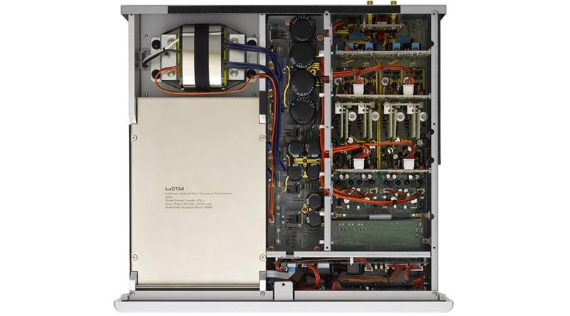 Đầu SACD/CD Luxman D-08U linh kiện