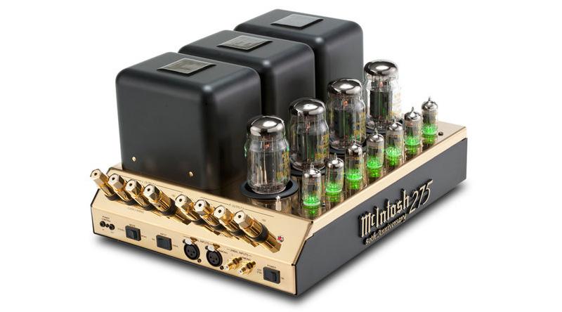 Power amply đèn McIntosh MC275 50th LE Gold