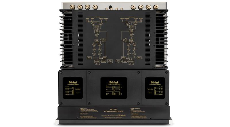 Power Amply McIntosh MC312