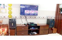 Bộ dàn karaoke gia đình anh Đệ ở Ninh Kiều, Cần Thơ (BMB 2000SE, SAE TX650Q, X5 Plus)