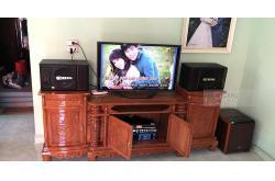 Dàn karaoke gia đình anh Hưởng ở Tứ Hiệp, Hải Dương (BIK S886II, BW 604 No8, Famous 3206, X6 Luxury, BBS B900)
