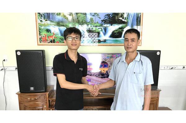 Dàn karaoke gia đình anh Khởi ở Thuận An, Bình Dương (Alto AT2000, Jamo J12, BIK VM620A, X5 Plus, BCE UGX12)