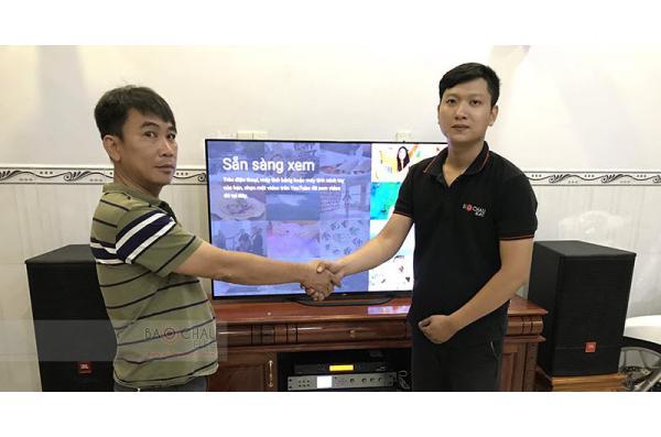 Dàn karaoke gia đình anh Lợi ở Biên Hòa (JBL CV1270, Jamo J12, Crown Xli2500, AAP K9800, UGX12 Plus)