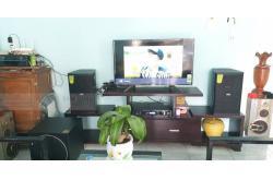 Dàn karaoke gia đình anh Tuấn ở Quảng Nam (Domus DP6100, Paramax 1000, DP6000)