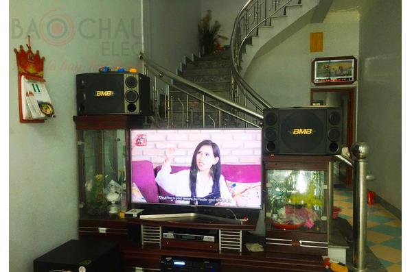 Dàn karaoke của gia đình anh Văn Anh tại Bắc Giang (BMB CSD 2000SE, BIK VM620A, BKSound X5 Plus, Paramax Sub1000 New, BCE UGX12)