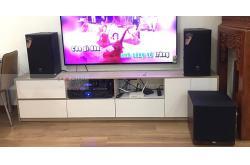 Dàn karaoke gia đình chị Hiếu ở Long Biên (JBL MTS12, JBL A120P, Crown Xli2500, BCE 9200+, JBL VM300)