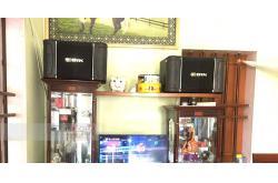Dàn karaoke gia đình chú Chuyền ở Vũ Thư, Thái Bình (BIK 968, BIK VM620A, DSP-9000, UGX12 Luxury)