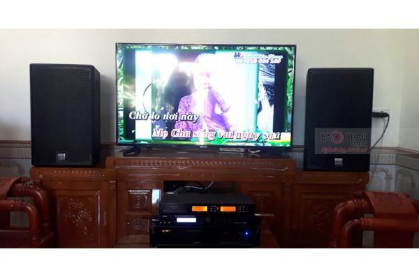 Dàn karaoke gia đình cô Huế ở Hoằng Hóa, Thanh Hóa (Alto AT2000, BIK VM620A, X5 Plus, BCE U900)