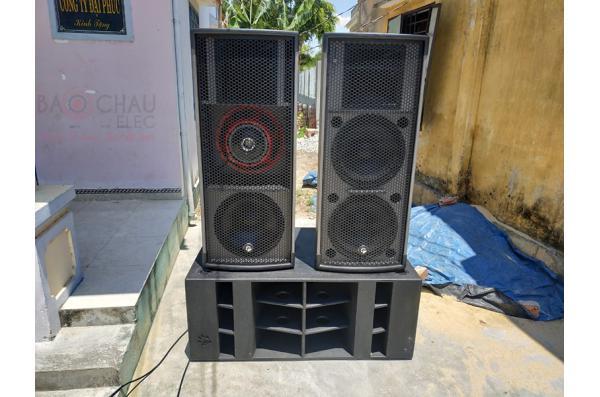 Lắp đặt bộ dàn âm thanh hội trường cho anh Thảo tại Quảng Nam (Pro 2.5, Pro 2.3, TS315, VF218, PQM13, CT12000X, BPR-8500, Vip 6000)