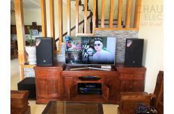 Dàn karaoke của anh Kiểm tại Thái Bình (JBL MTS12, BIK VM620A, BIK BPR8500, JBL A120P, JBL VM300)