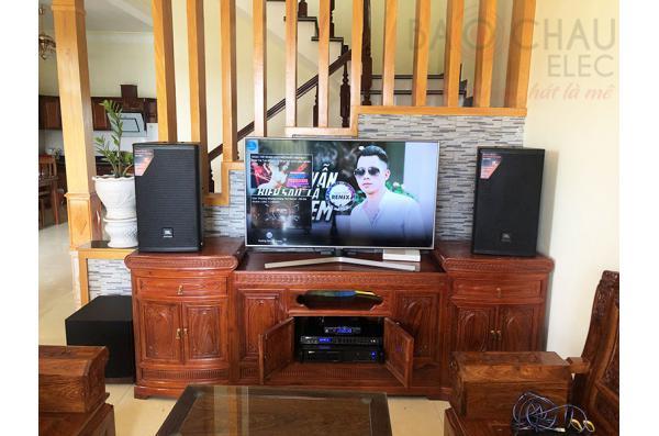 Lắp đặt dàn karaoke gia đình cho anh Kiểm tại Thái Bình (JBL MTS12, BIK VM620A, BPR8500, A120P, JBL VM300)