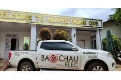 Lắp đặt phòng hát vip quán Hương Đồng Quê (BLS15+, BLS218+, CT1200X, KX180, UGX12 Plus, Plus 4TB, 22 inch)