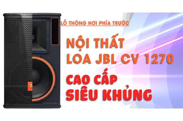 """""""Mổ bụng'' JBL CV 1270: Có gì bên trong chiếc loa bass 30 này ?"""