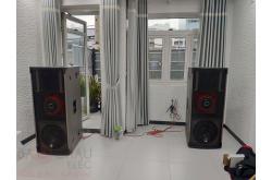 Nâng cấp bộ dàn âm thanh cho gia đình anh Oai tại Tân Bình – TP HCM (CatKing Pro 2.5, SAE PQM13)