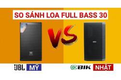 So sánh Loa JBL MTS 12 vs BIK BSP 412: Bass 30 chọn Mỹ hay Nhật ?