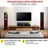 Dàn nghe nhạc 2 kênh Stereo NN33