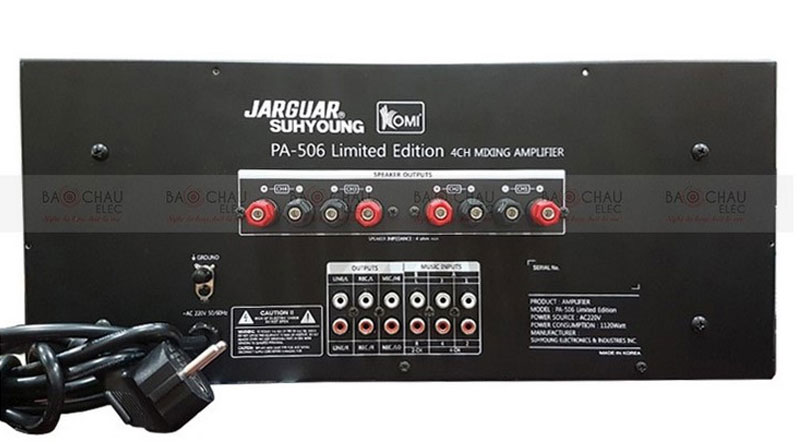 Amply Jarguar Suhyoung 506 Limited Edition