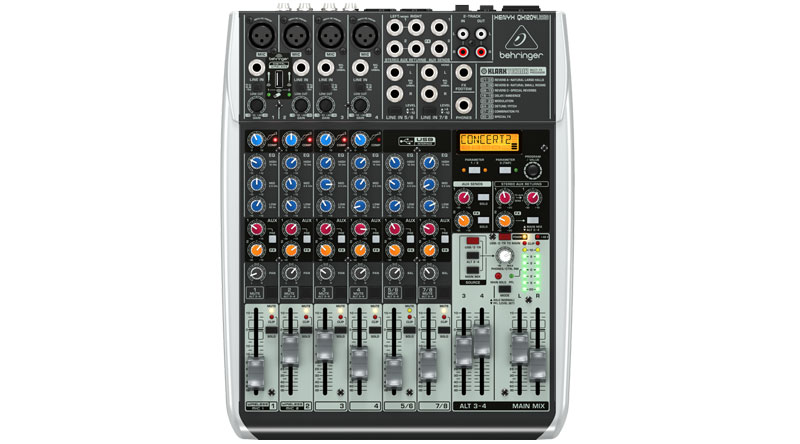 Bàn mixer Behringer QX1204USB chính hãng