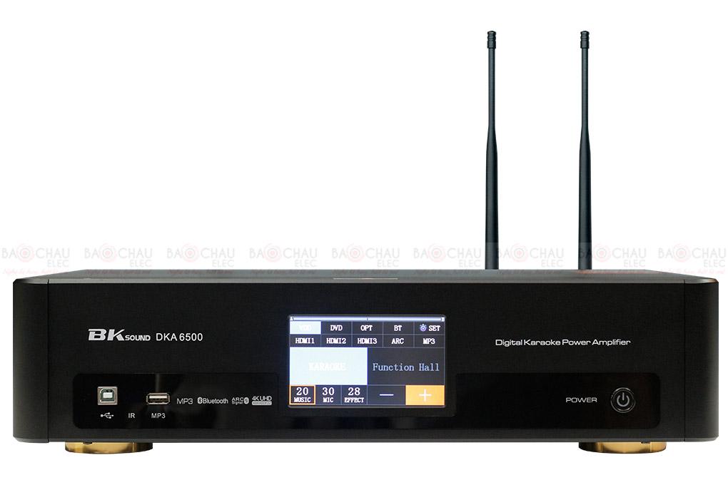 Digital Karaoke Power Amplifier BKSound DKA 6500 mặt trước