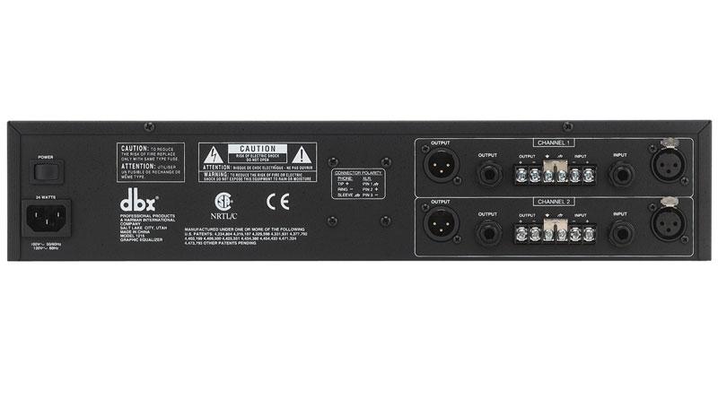 Equalizer DBX 1215
