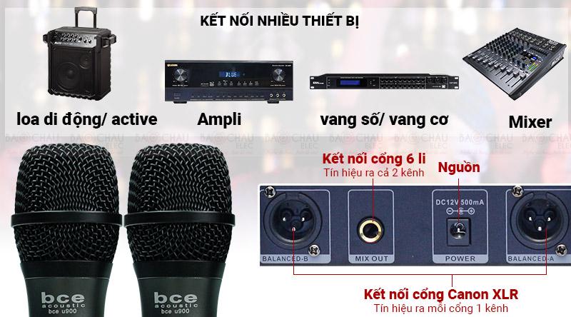 Kết nối nhiều thiết bị âm thanh