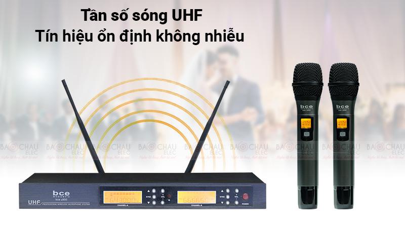 Sử dụng tần số UHF siêu cao
