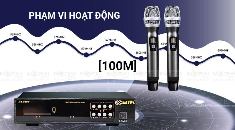Micro không dây BIK BJ-U100