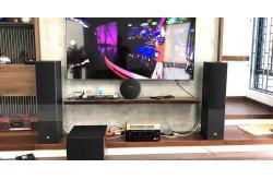 Dàn âm thanh nghe nhạc gia đình anh Vịnh ở Thanh Trì, HN (JBL Stage A180, JBL A120, DRA-800H)