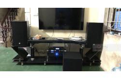 Dàn karaoke cao cấp gia đình anh Bách ở Thường Tín, Hà Nội (RCF CMAX 4112, JBL A120P, Crown Xli3500, JBL KX180, JBL VM300)