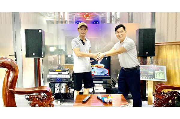 Dàn karaoke cao cấp gia đình chú Minh ở Tam Hiệp (RCF Cmax 4112, Crown Xli3500, AAP K9800, UGX12 Plus Luxury)