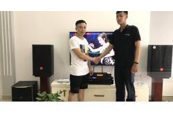 Dàn karaoke gia đình anh Hiệp ở Ngô Quyền, Hải Phòng (JBL CV1270, Pasion 12SP, BIK VM640A, BPR-8500, UGX12 Plus)