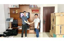 Dàn karaoke gia đình anh Khoa ở Tân Phú (JBL CV1270, BIK BJ-W66 Plus, BIK VM840A, BPR-8500, UGX12 Gold, Plus 4TB)
