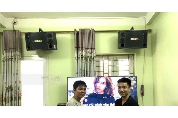 Dàn karaoke gia đình anh Phan ở Tiên Du, Bắc Ninh (BMB 2000SE, Famousound 3206, X5 Plus, Alto TS312, BCE UGX12)