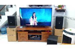 Dàn karaoke gia đình anh Phong ở Bình Chánh, HCM (BIK BSP 410, R120SW, BIK VM620A, BJJ-U100)