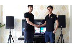 Dàn karaoke gia đình anh Thuận ở An Dương, Hải Phòng (Alto AT1000, BIK BJ-A88, BCE U900)