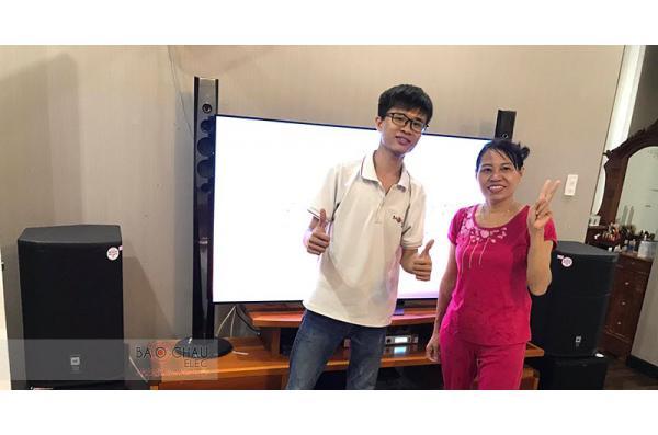 Dàn karaoke gia đình anh Toàn ở Biên Hòa, Đồng Nai (JBL PRX412M, Klipsh SPL120, Crown Xli2500, BCE DP9200+)