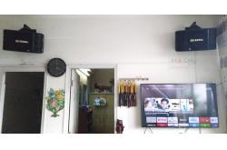 Dàn karaoke gia đình cô Hạnh ở Quận 2, HCM ( BIK BS-998X, Bksound DP6000)
