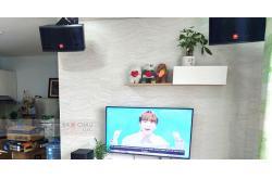 Lắp bộ dàn karaoke và nghe nhạc cho gia đình anh Duy ở Gò Vấp (JBL CV1852T, Bksound DP6000, BW604 No8, Stage A170, PMA-600NE)