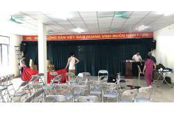 Lắp đặt 5 bộ dàn âm thanh cho các nhà văn hóa ở Phường Thanh Xuân Nam, HN (Alto TX212, Alto TX210, BCE U900, DSP 9000, Shupu EDM 18A)