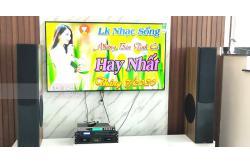 Lắp đặt bộ dàn karaoke cho gia đình anh Đông ở Từ Liêm, HN (Platinum D88, SAE CT3000, DSP-9000, U900 Plus New)
