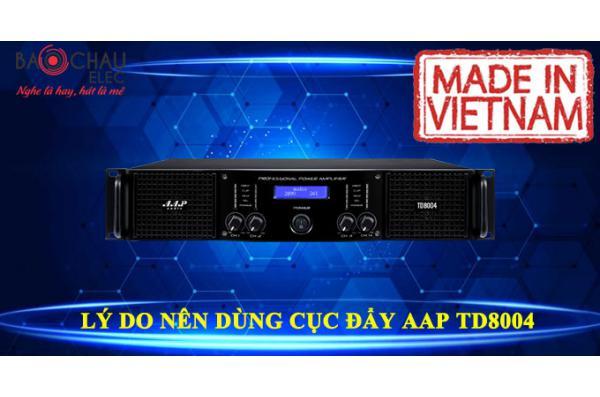 Lý do nên sử dụng cục đẩy công suất 4 kênh AAP TD8004
