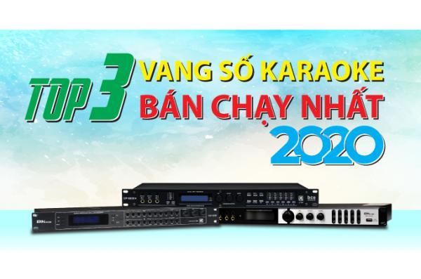 Top 3 vang số karaoke bán chạy nhất năm 2020