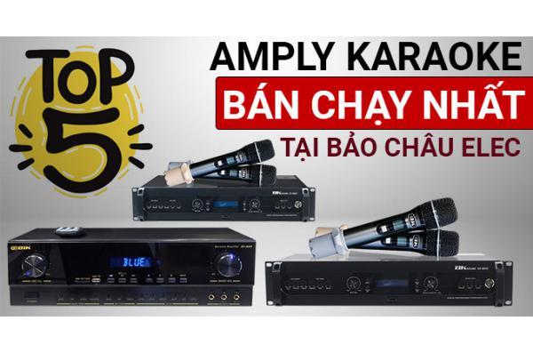 Top 5 amply karaoke bán chạy nhất tại Bảo Châu Elec