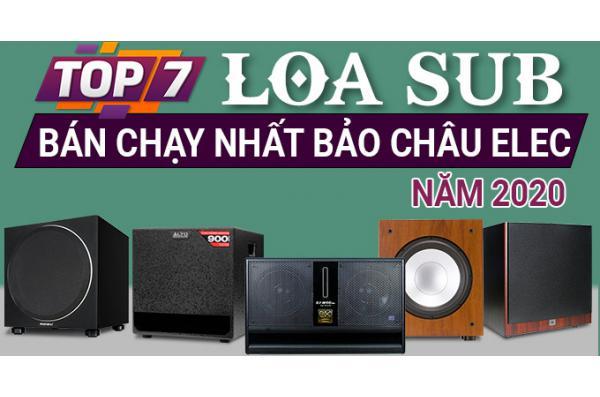 Top 7 loa sub bán chạy nhất Bảo Châu Elec 2020